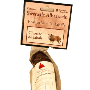 Venta de Chorizo de Jabalí en Pantruque Gijón Asturias
