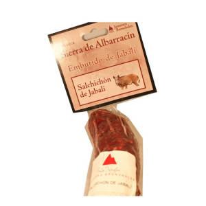 Venta de Salchichón de Jabalí en Pantruque Charcutería Gourmet Gijón