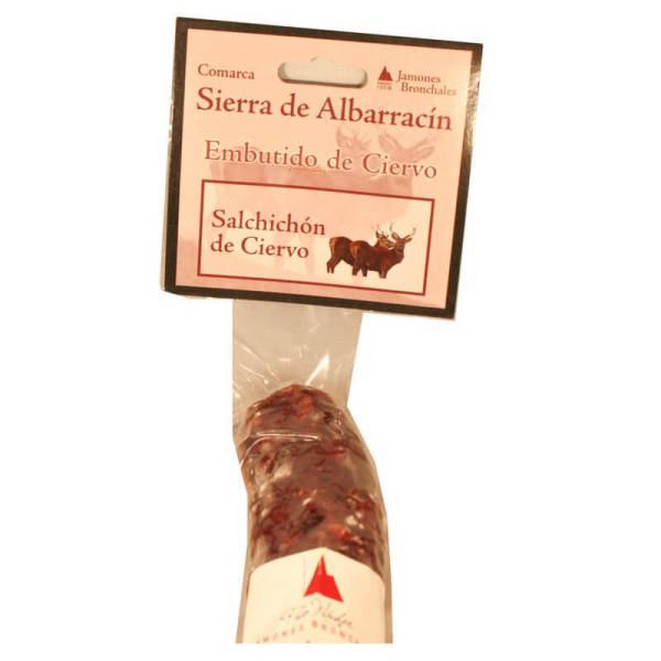 Venta de Salchichón de Ciervo en Pantruque Charcutería Gourmet Gijón