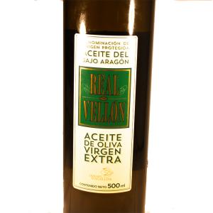 Venta de Aceite de Oliva Virgen Extra Real Vellón en Pantruque Gijón