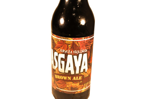 Venta de Cerveza Ecológica Asgaya Brown Ale en Pantruque Gijón Asturias