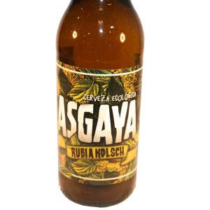 Venta de Cerveza Ecológica Asgaya Rubia Kölsch en Pantruque Gijón Asturias