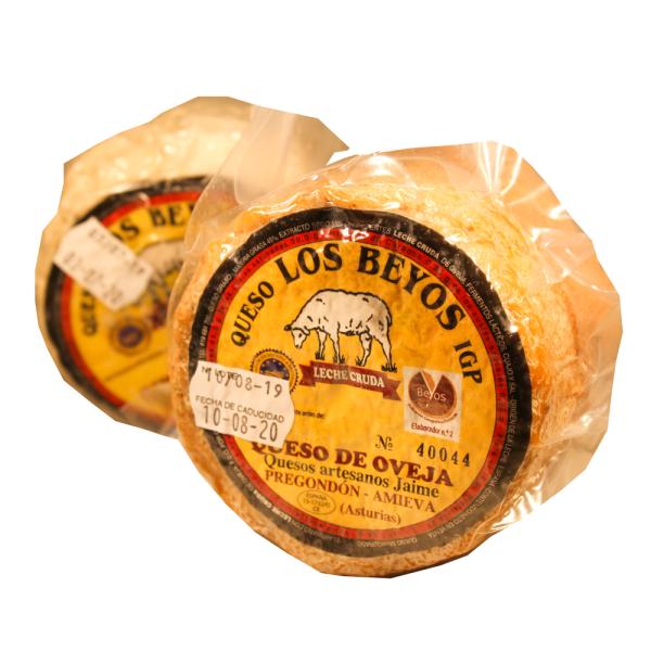 Comprar queso los beyos de oveja igp queseria en Gijón Asturias