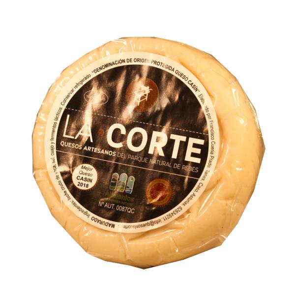 comprar Queso La Corte DOP Casin queseria en Gijón Asturias