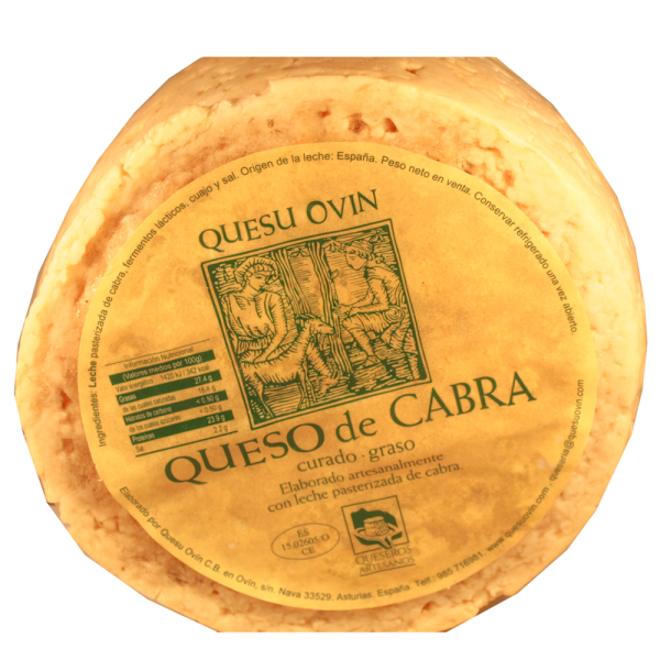 Comprar queso ovin de cabra queseria en Gijón Asturias