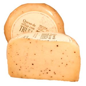 Comprar queso de oveja trufado en quesería gijón asturias