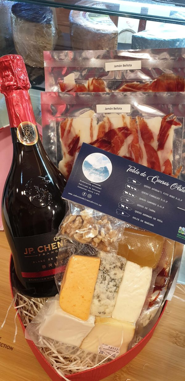Venta de cestas de productos gourmet en Pantruque Gourmet Asturias