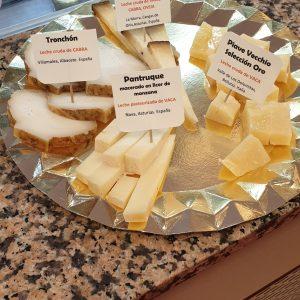 Venta de tablas de quesos en Quesería Pantruque Gourmet Gijón Asturias