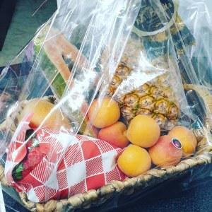 Venta de cestas de frutas en Pantruque Gijón Asturias