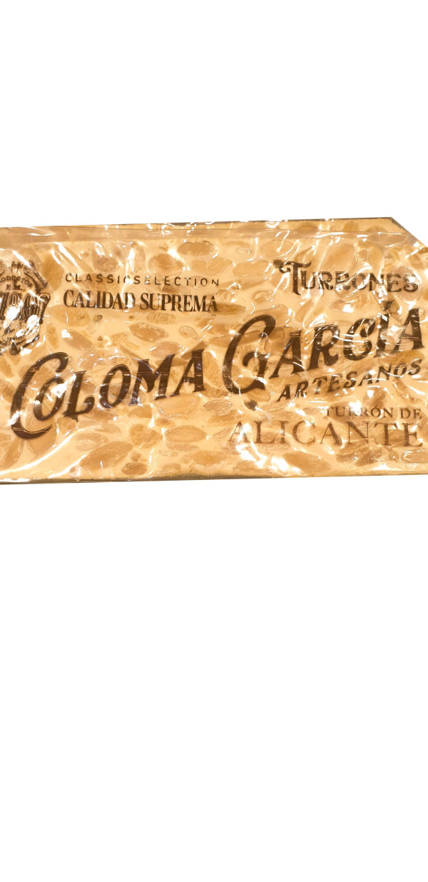 Comprar Turrón de Alicante Coloma García en Gijón (Asturias)