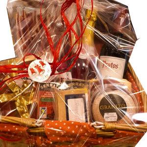 Cesta navidad produtos gourmet en Gijón